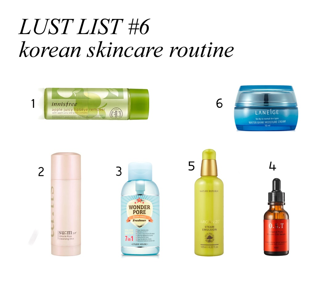 korean lust list