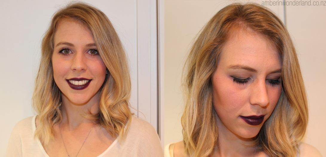 amber makeup
