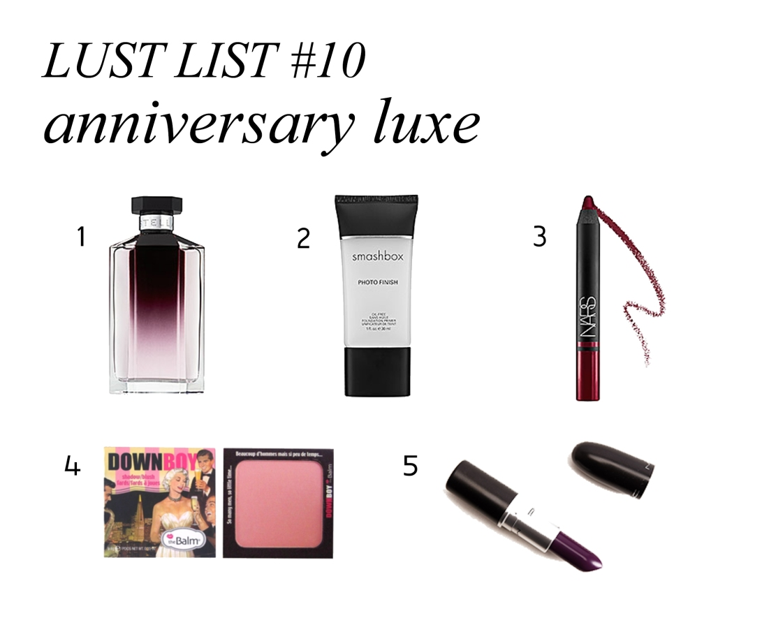 lust list ten